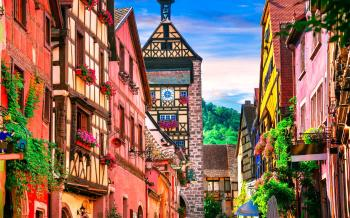 Riquewihr, Plus Beaux Village de France